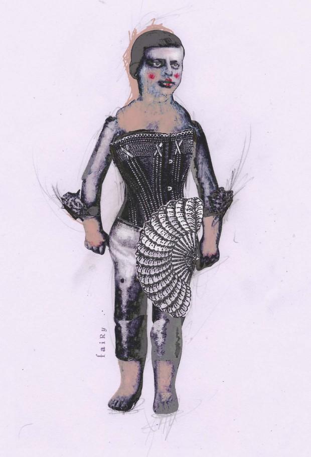 Costume design concept